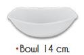 Bowl Chico Semicuadrado