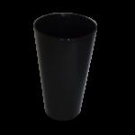 vaso-policarbonato-negro-liso-opaco